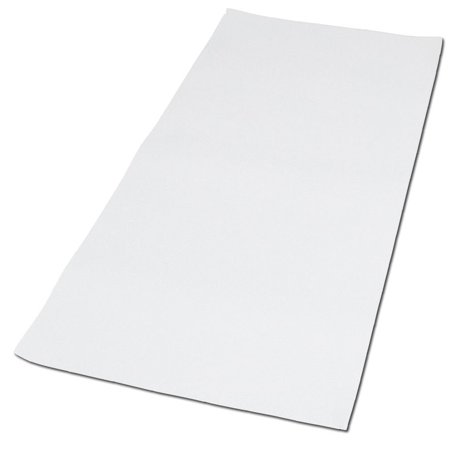 Shop Nutub 40 In X 16 In White Vinyl Bath Mat At Lowes Com