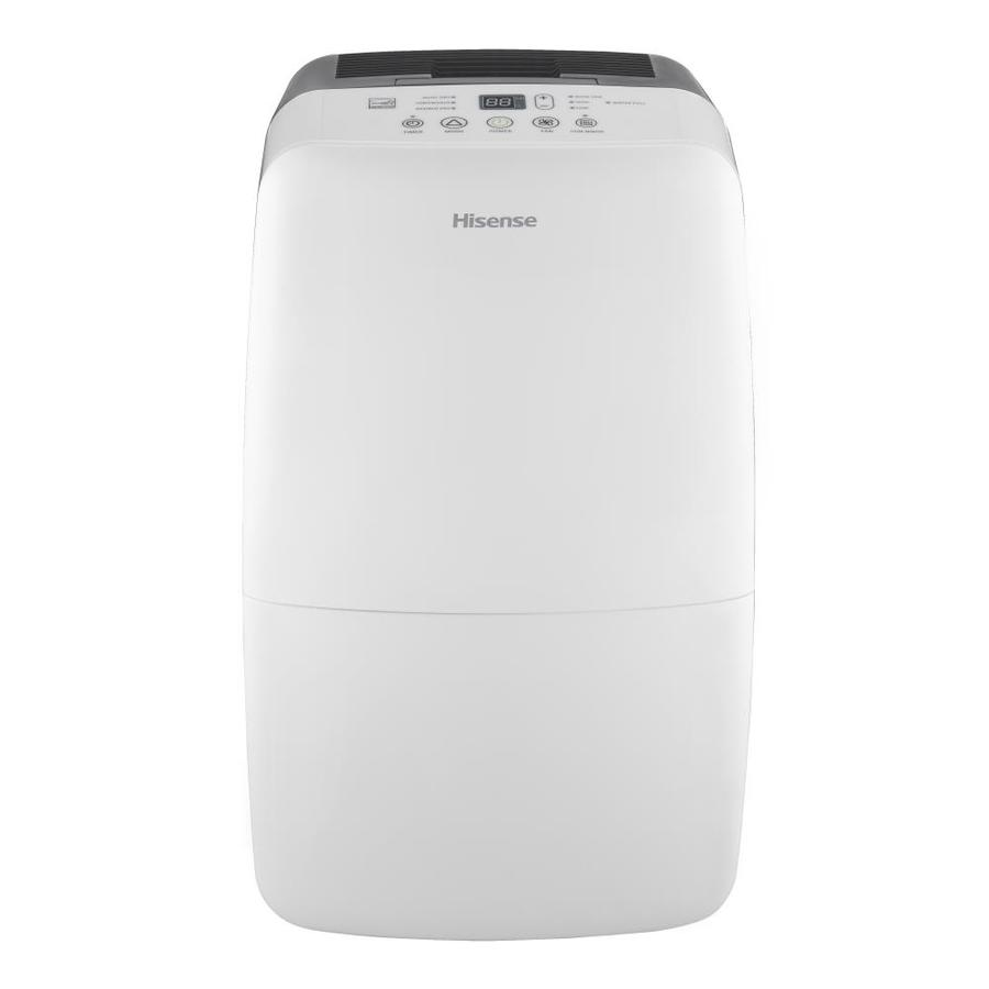 Hisense 70-Pint 2-Speed Dehumidifier with Built-In Pump ENERGY STAR