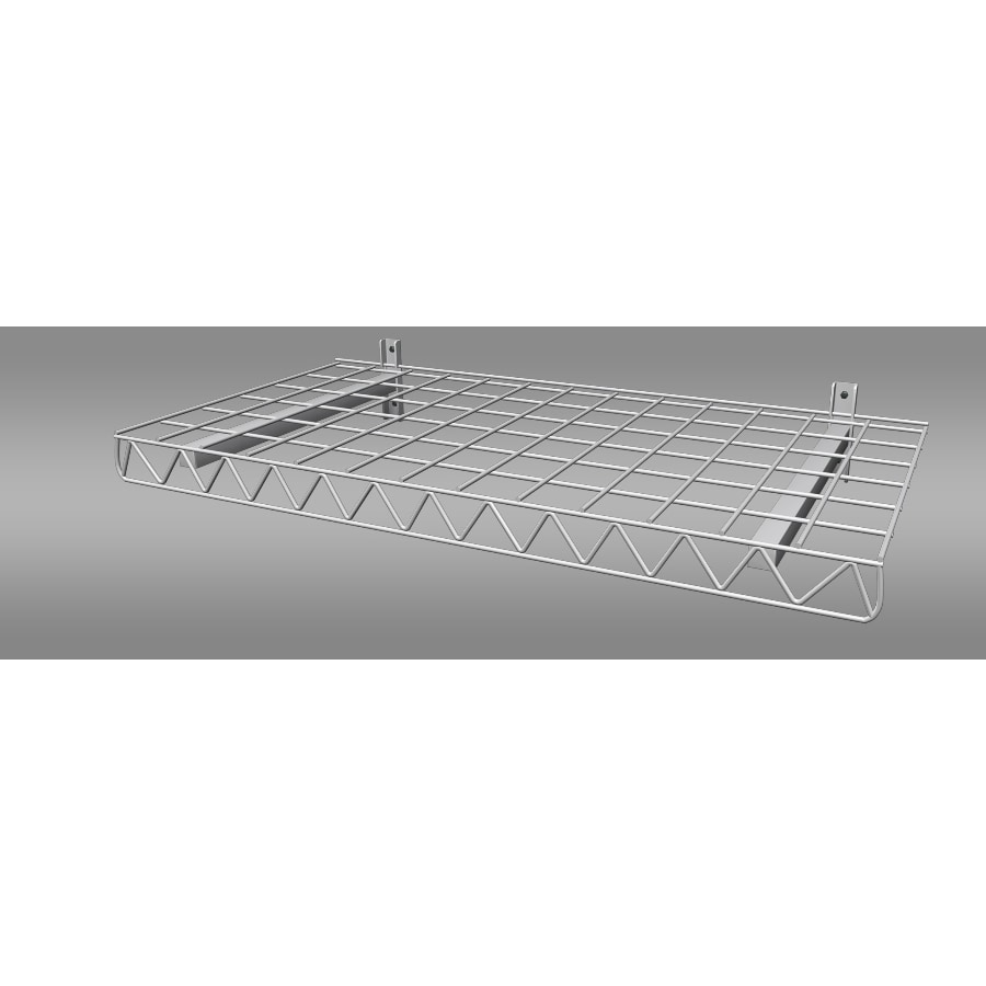 Strong Racks 19-in W x 38.75-in H x 2.5-in D Steel Wall Mounted Shelving
