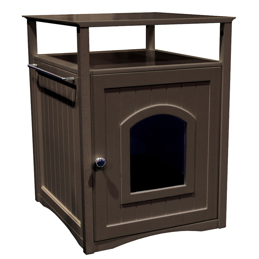 Merry Pet Espresso Hooded Litter Box