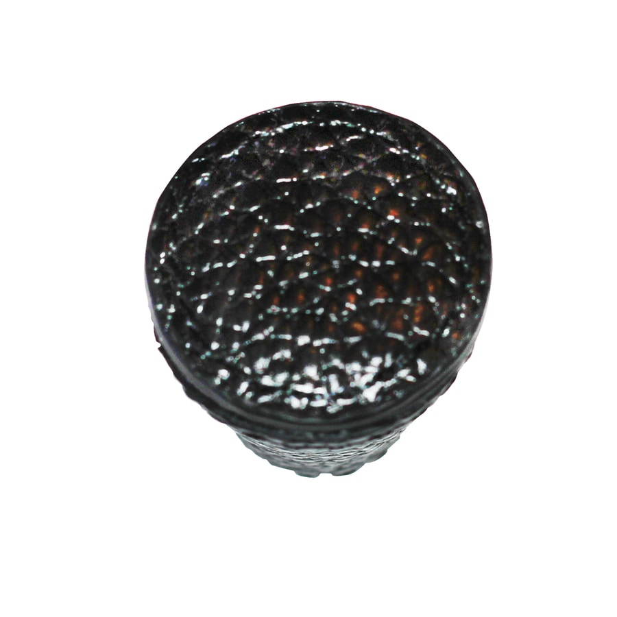 Carolina Accents Hutton Black Round Cabinet Knob
