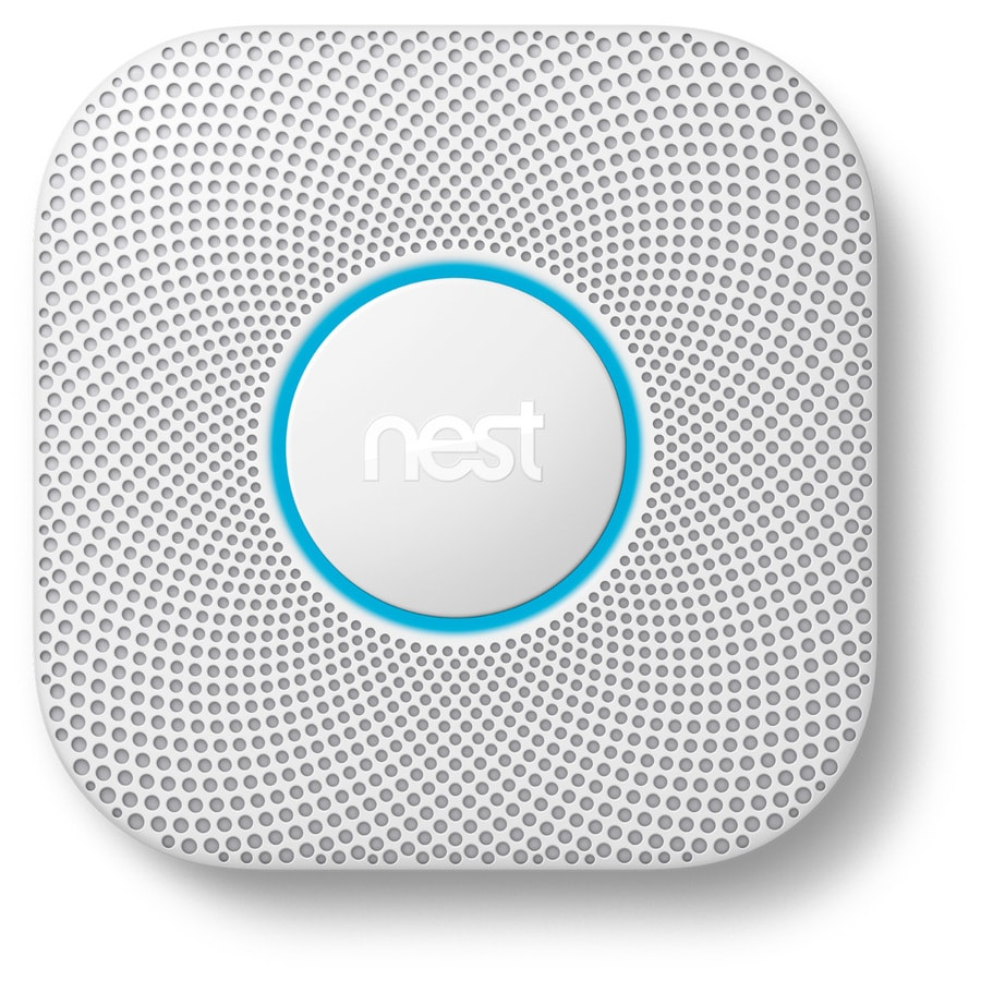 Nest Protect AC Hardwired Combination Smoke and Carbon Monoxide Detector with Photoelectric Sensor and Battery Back-Up