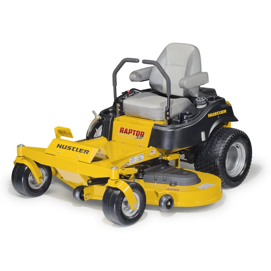 Hustler Raptor SD 24-HP V-Twin Dual Hydrostatic 60-in Zero-Turn Lawn Mower