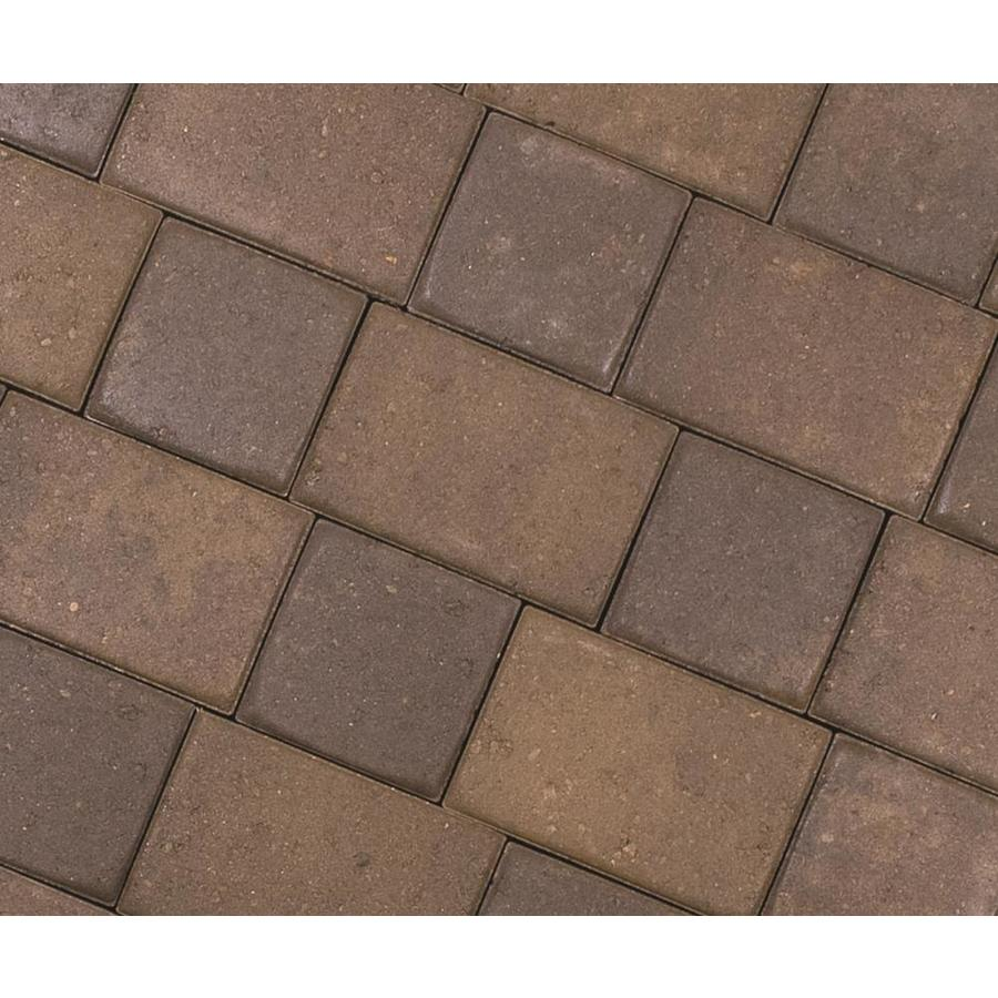 CastleLite Mojave Blend Concrete Paver (Common: 8-in x 11-in; Actual: 8-in x 11-in)