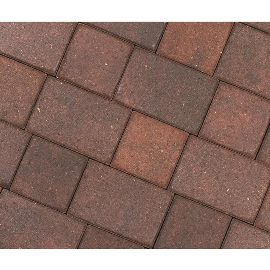CastleLite Napa Blend Concrete Paver (Common: 6-in x 9-in; Actual: 5.5-in x 8-in)