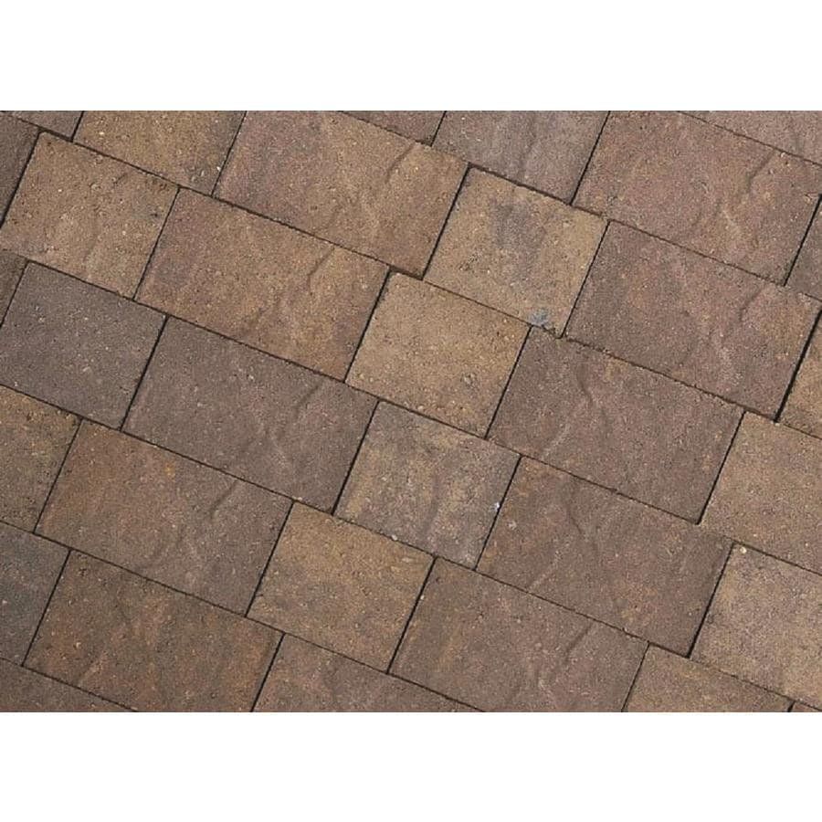 CastleLite Mojave Blend Concrete Paver (Common: 8-in x 11-in; Actual: 8-in x 11-in)