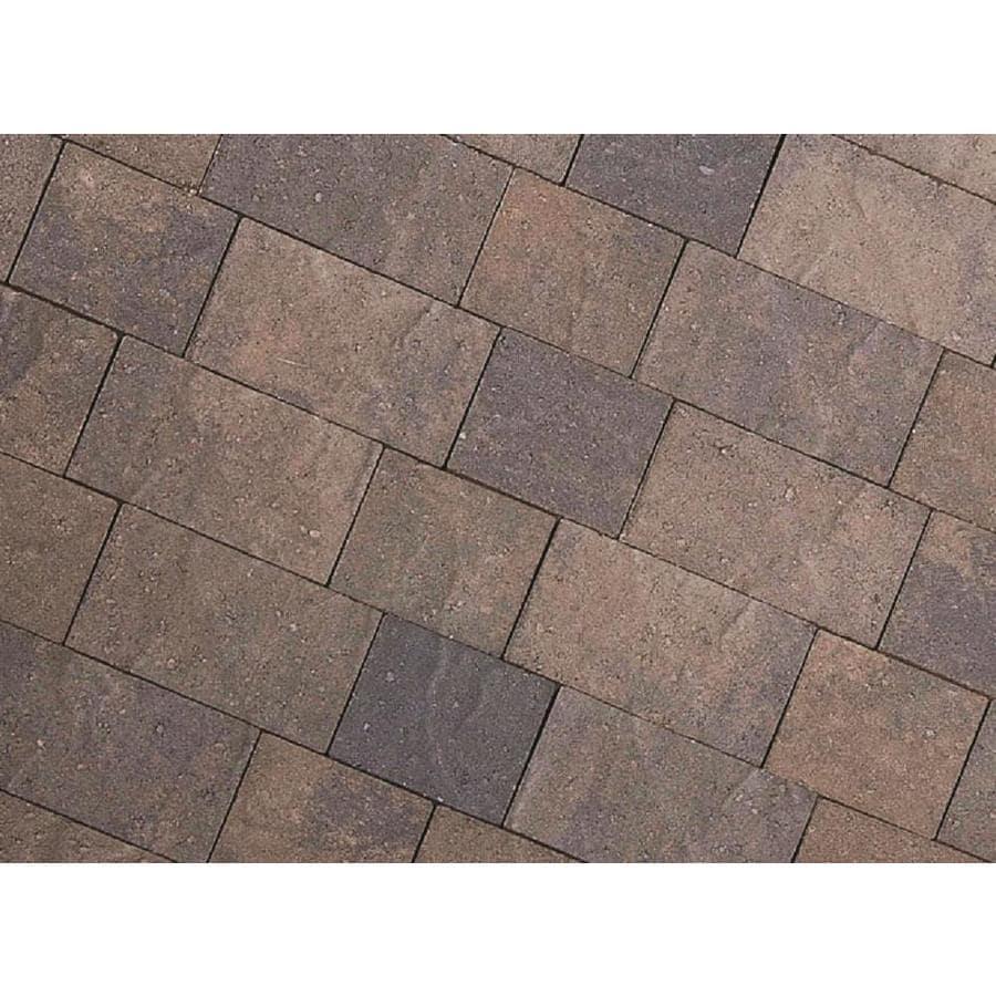 CastleLite Monterey Blend Concrete Paver (Common: 8-in x 11-in; Actual: 8-in x 11-in)