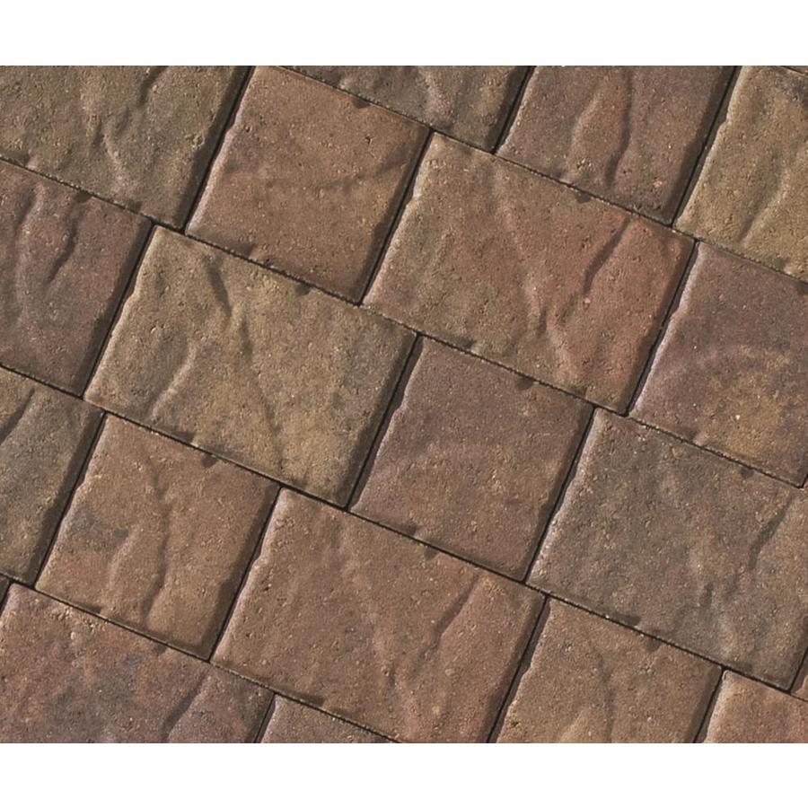 CastleLite Sonoma Blend Concrete Paver (Common: 8-in x 11-in; Actual: 8-in x 11-in)