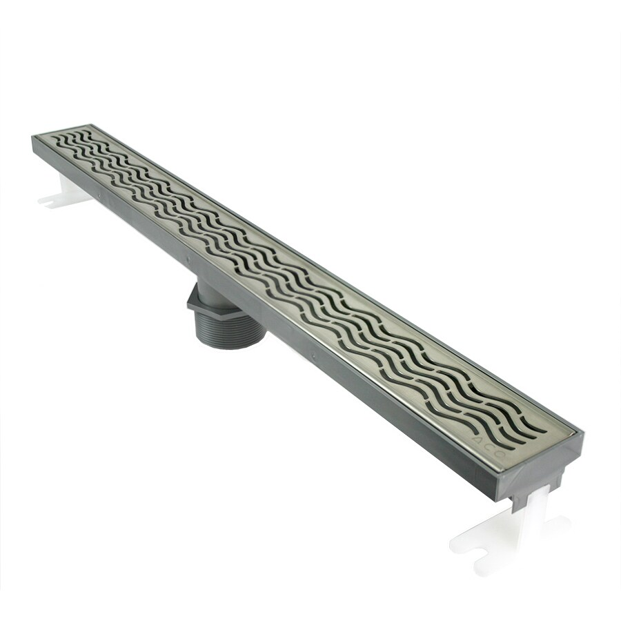Shop QuARTz by ACO Stainless Steel Plastic Floor Drain at Lowes.com
