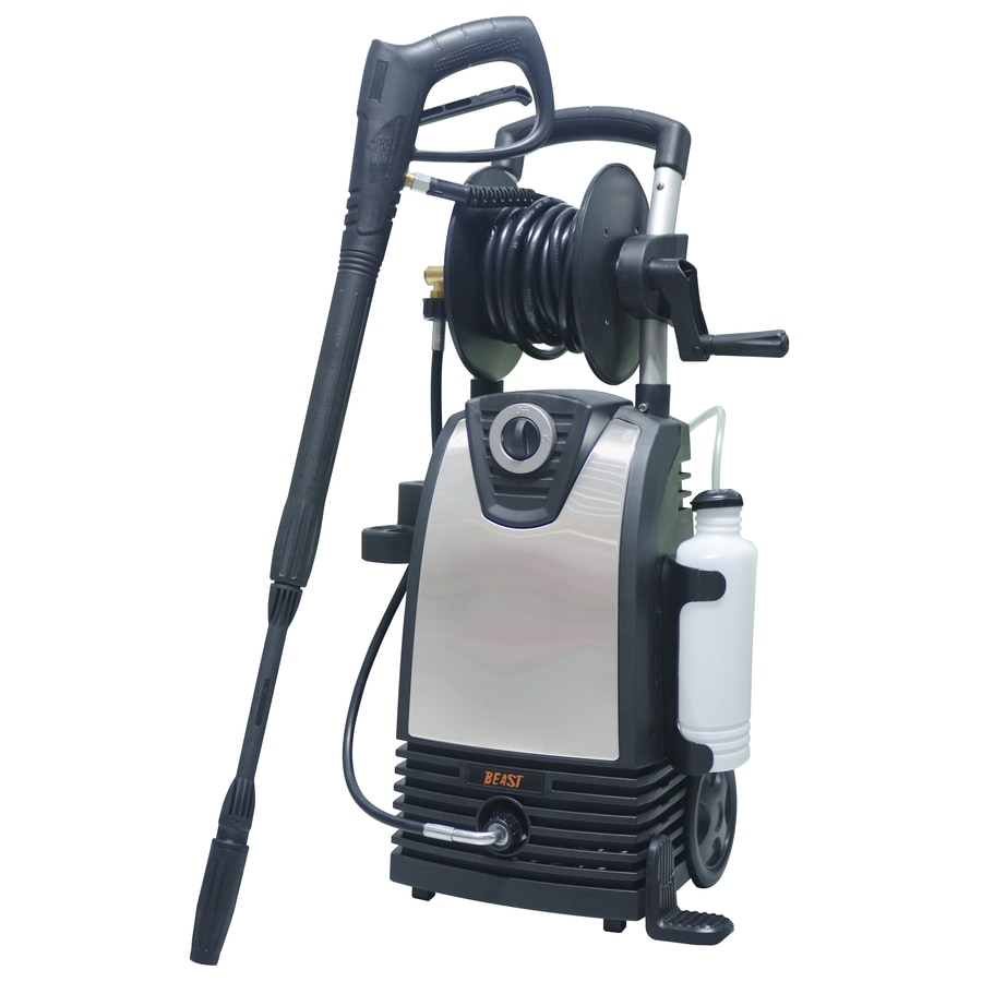 shop beast stainless steel 2 000 psi 1 5 gallon gpm cold water electric pressure washer at. Black Bedroom Furniture Sets. Home Design Ideas