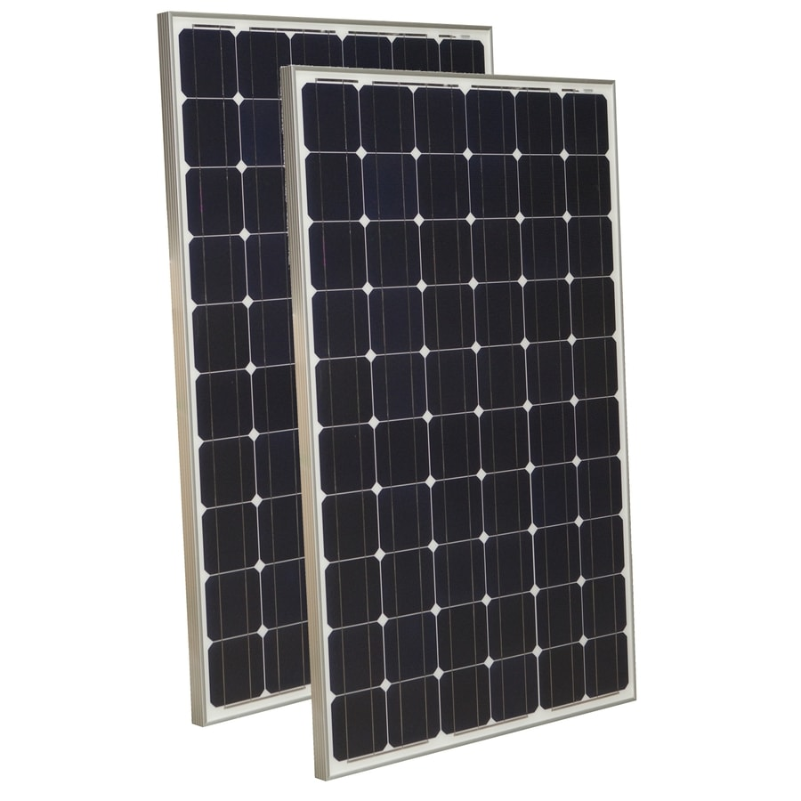 Grape Solar 2-Module 64.6-in x 39-in 265-Watt Solar Panel