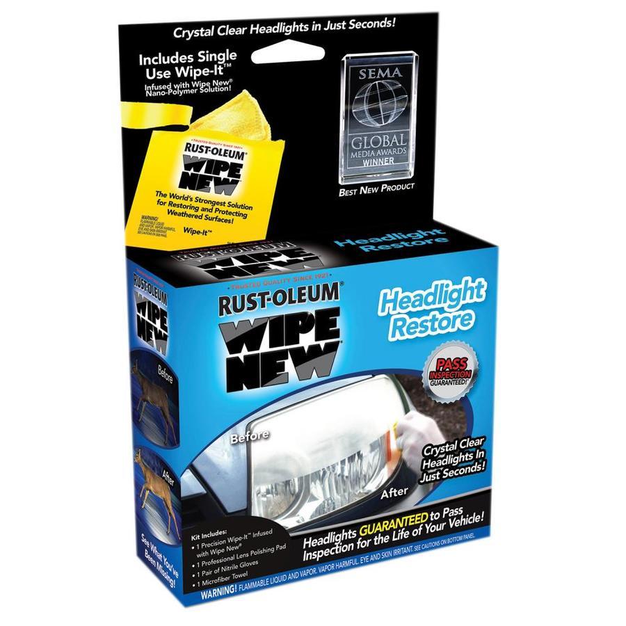 Shop Rust Oleum Headlight Oz Car Exterior Cleaner At