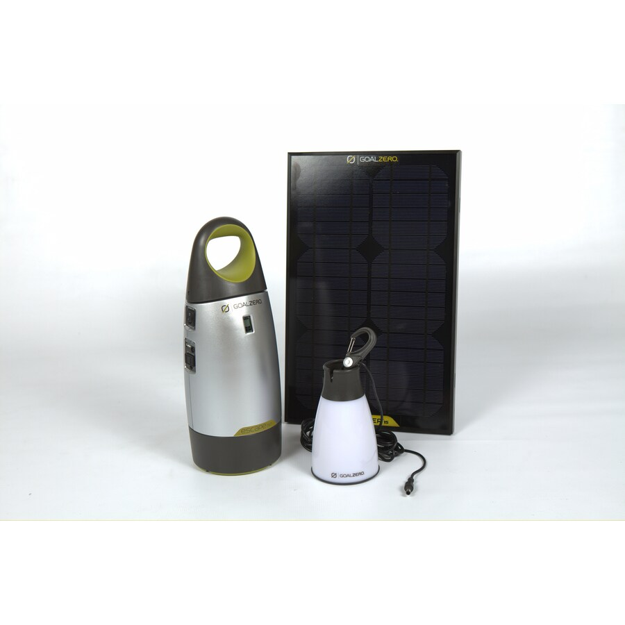 GOAL ZERO Escape 12-Volt Portable Solar Power Kit