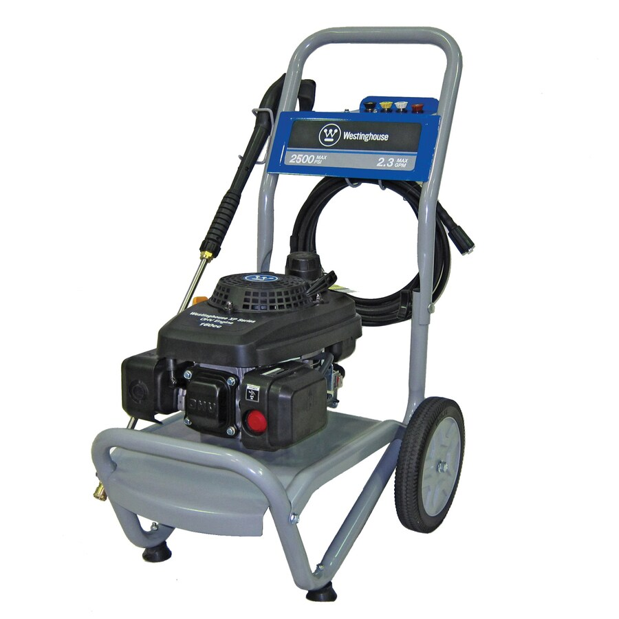 Westinghouse 2500-PSI 2.3-GPM Water Gas Pressure Washer