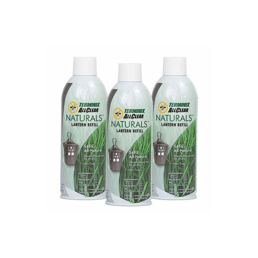 Terminix ALLCLEAR Naturals Lantern 3-Pack refills