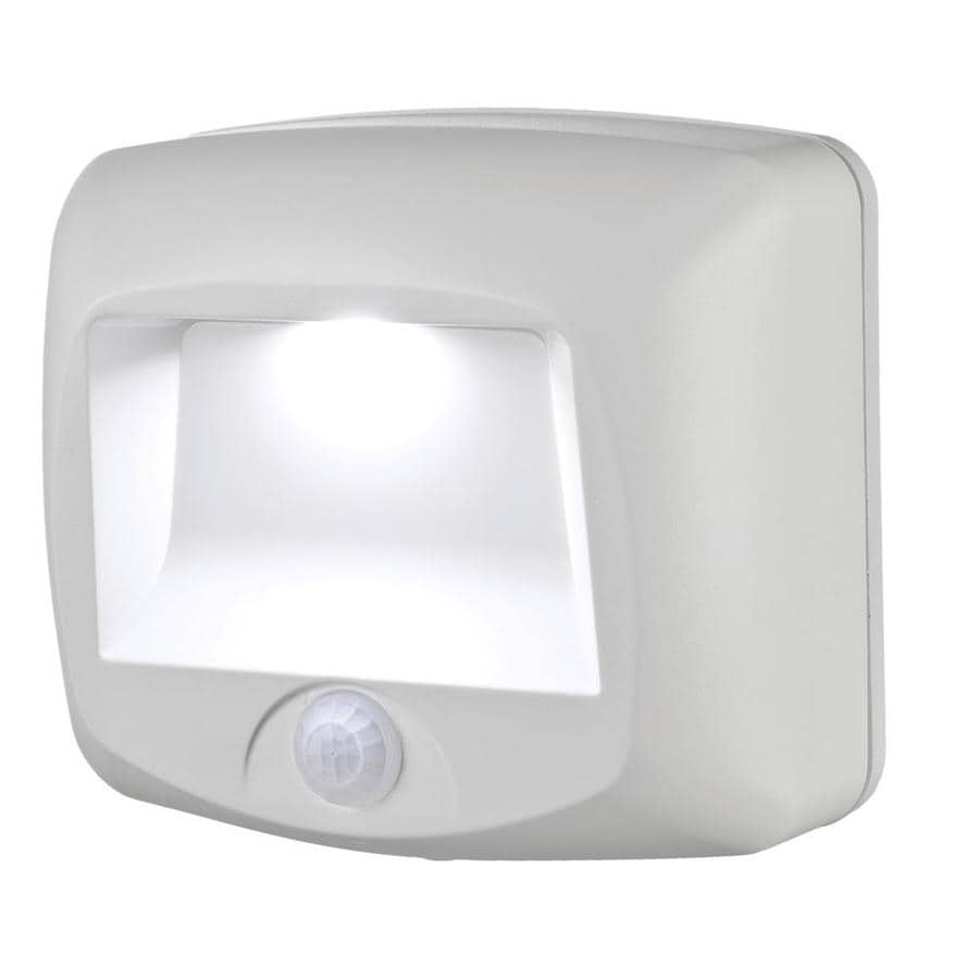 Mr Beams White LED Night Light with Motion Sensor and Auto On/Off