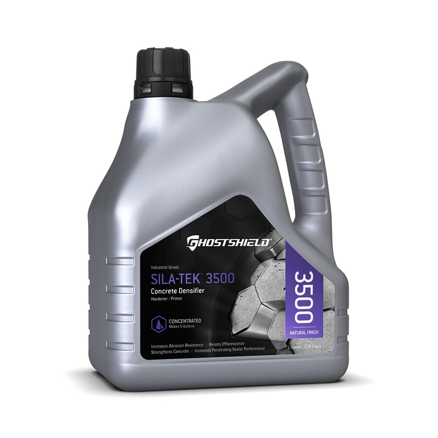Ghostshield Clear Natural Finish Penetrating Concentrated Concrete Sealer and Densifier