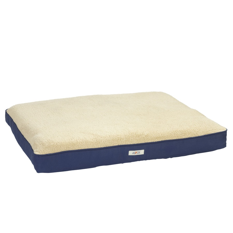 ASPCA Assorted Polyester Rectangular Dog Bed