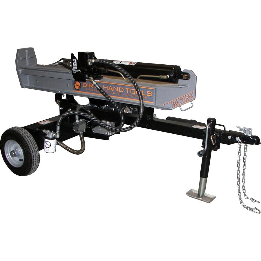 Dirty Hand Tools 28-Ton Gas Log Splitter