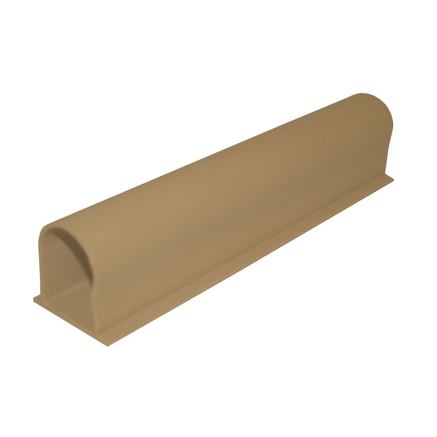 Accessible Construction Light Tan Styrene Shower Threshold