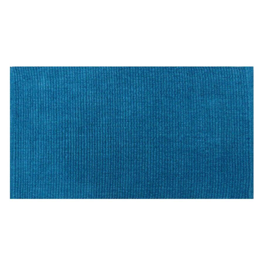 Blue Rectangular Indoor Woven Throw Rug (Common: 2 x 4; Actual: 27-in W x 45-in L x 0.375-ft Dia)