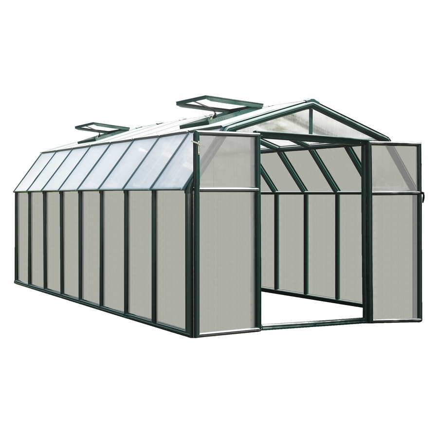 Rion 16.5-ft L x 8.5-ft W x 6.5-ft H Plastic Poly Sheeting Greenhouse