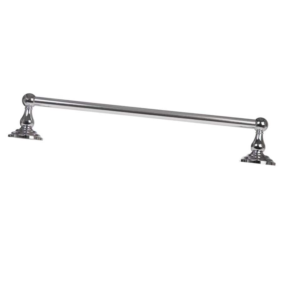 ARISTA Cascade Chrome Single Towel Bar (Common: 24-in; Actual: 24-in)
