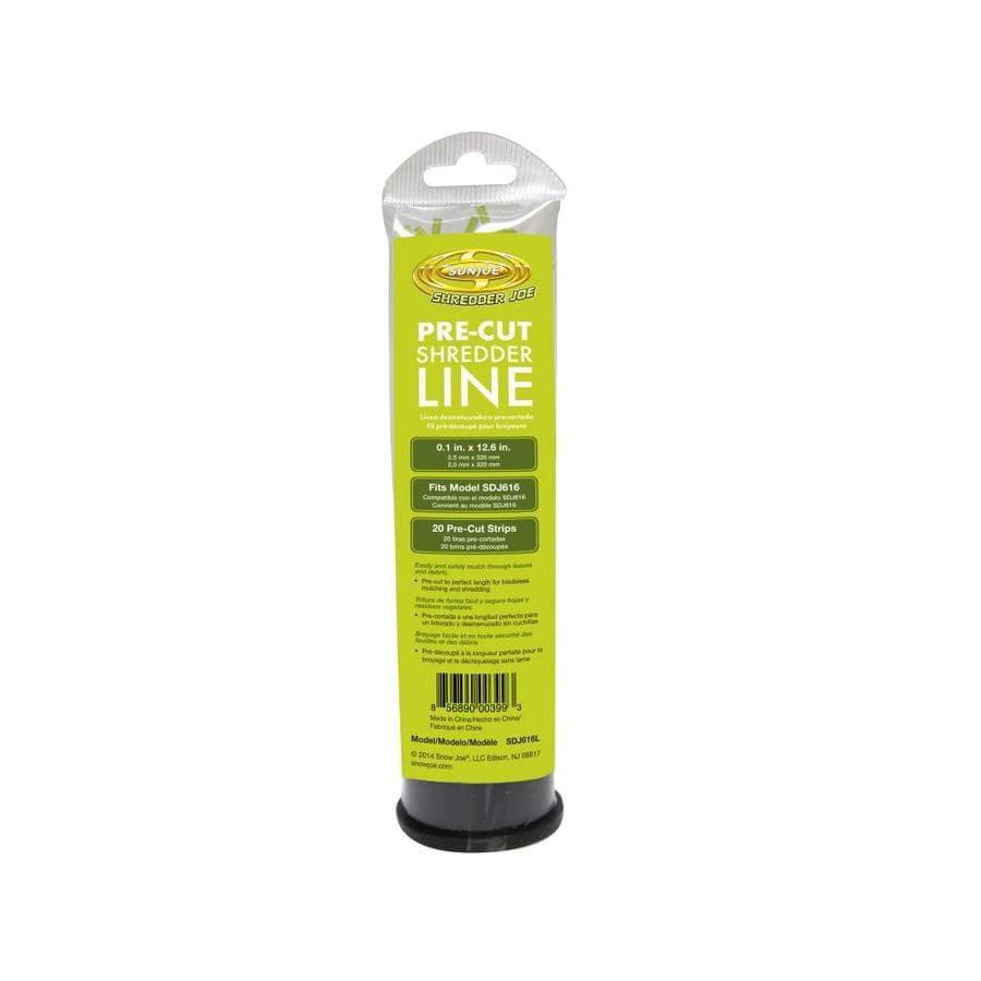 Sun Joe 20-Pack Leaf Mulcher Replacement Line