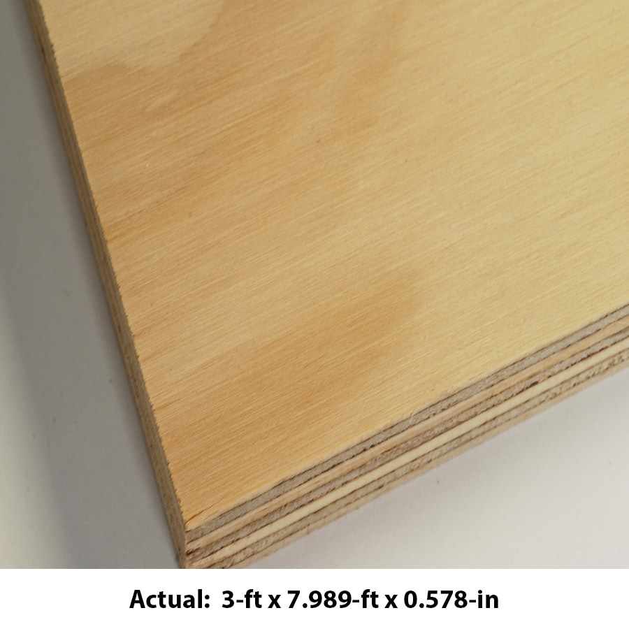 AraucoPly 19/32 CAT PS1-09 Radiata Pine Sanded Plywood, Application as 4 x 8