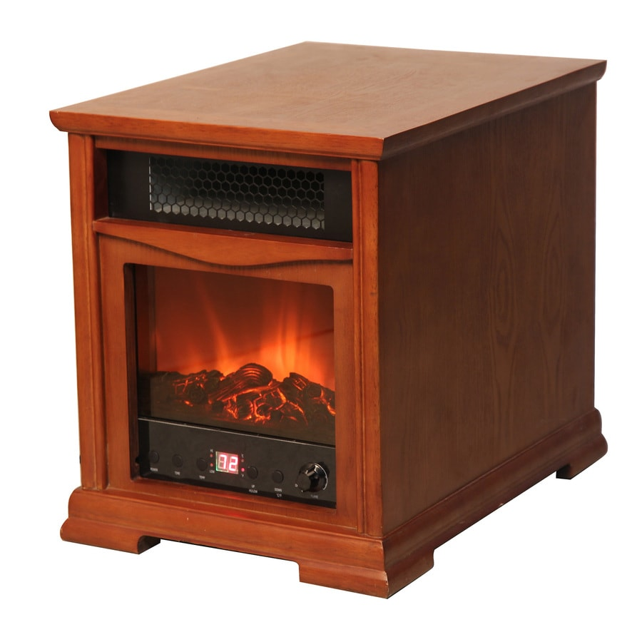 LifeSmart Infrared Cabinet Electric Space Heater with Thermostat and Energy Saving Setting