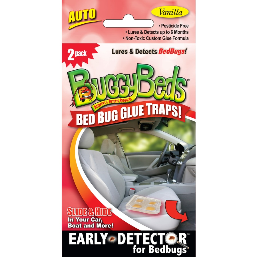 BuggyBeds Bed Bug Glue Traps