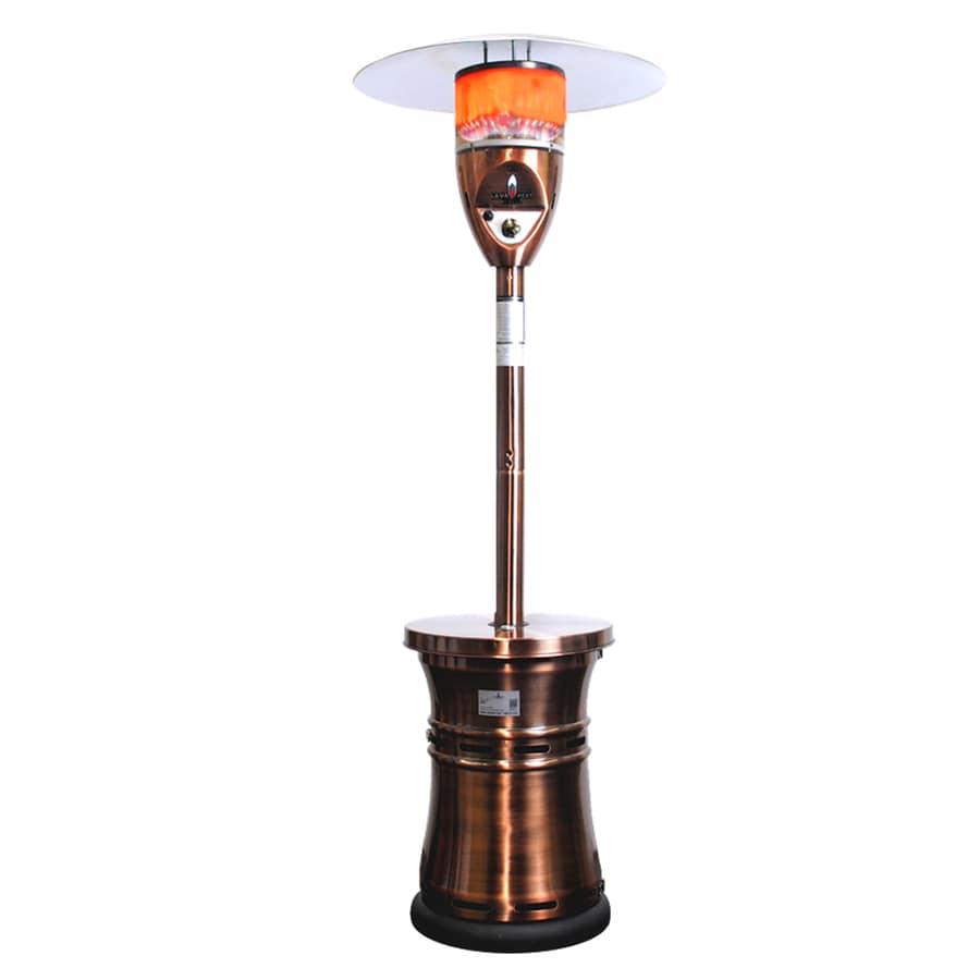 Lava Heat Italia 48,000-BTU Copper Steel Floorstanding Liquid Propane Patio Heater