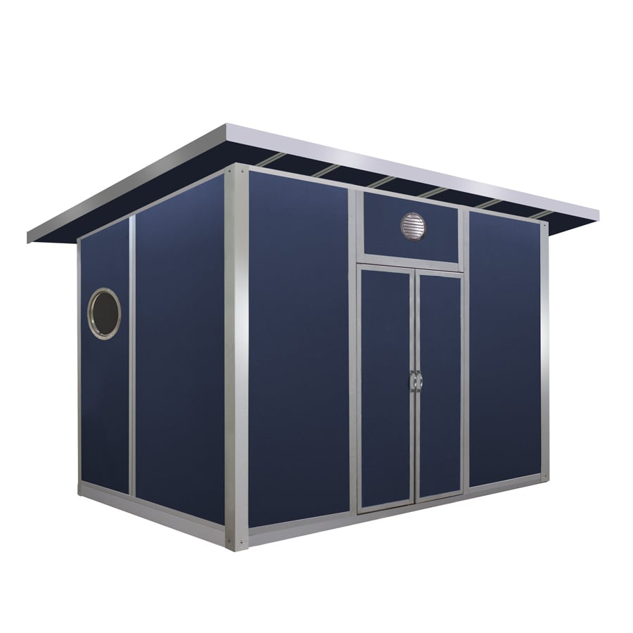 GreenOx 12-ft x 8-ft Magnesium Oxide Composite Storage Shed (Actuals 12-ft x 8-ft)