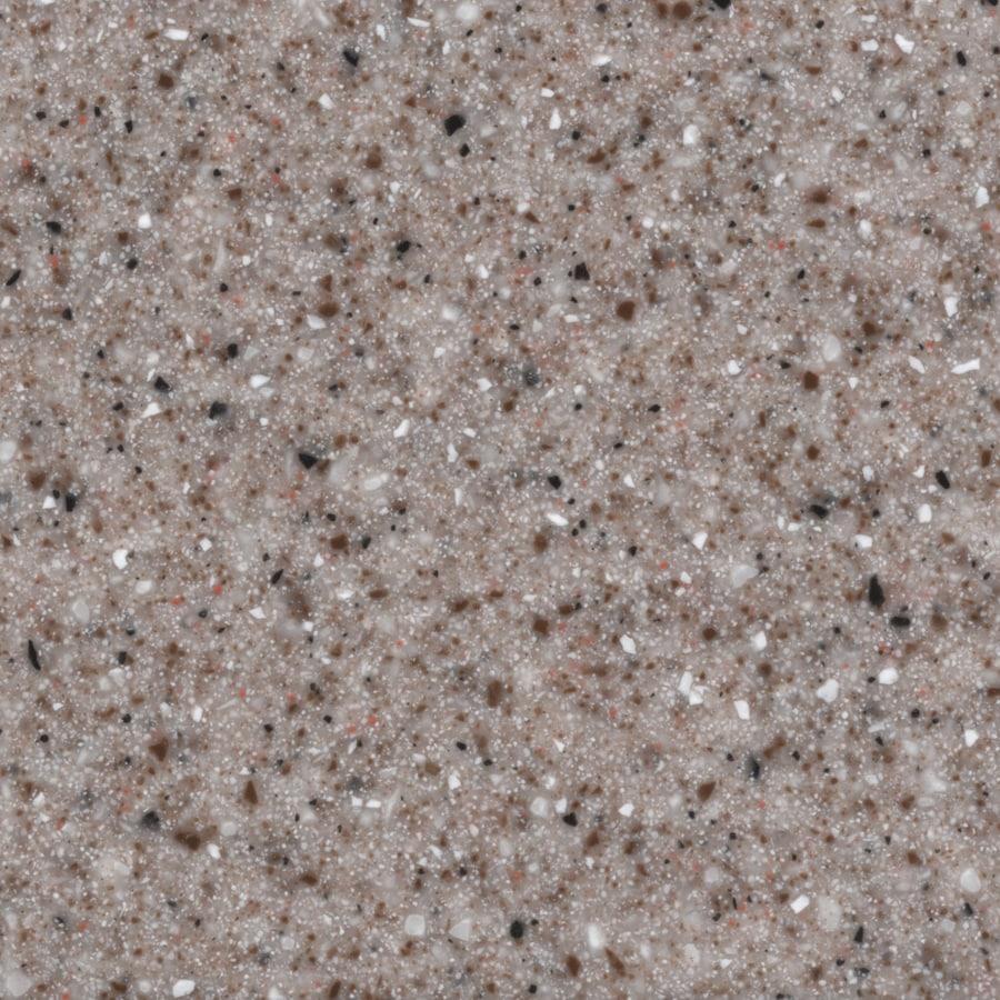 Shop Allen Roth Pink Sand Solid Surface Kitchen