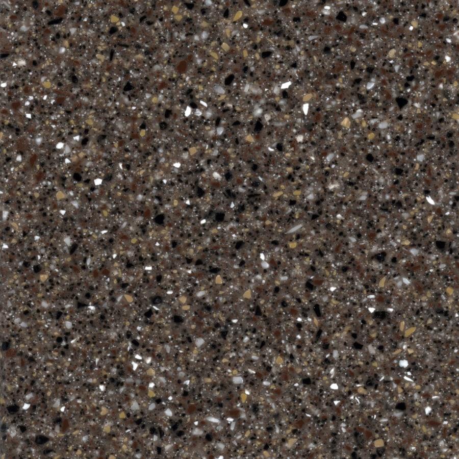 Shop allen roth slate solid surface kitchen countertop for Corian solid surface countertops prices