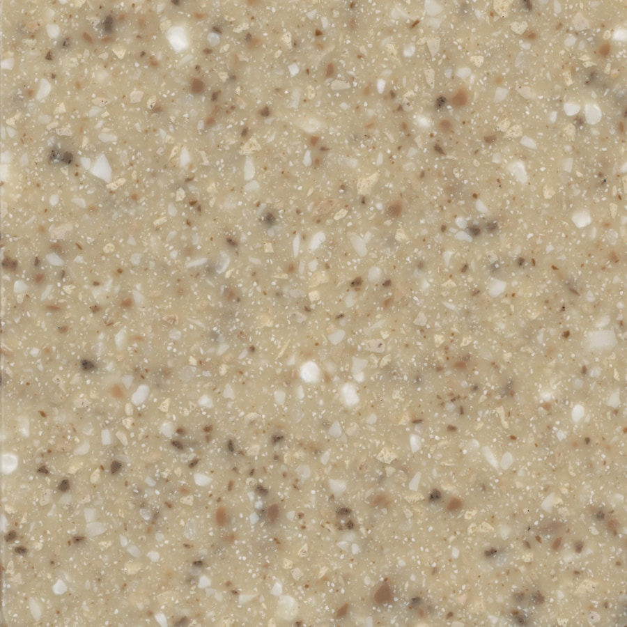 allen + roth Pebble Solid Surface Kitchen Countertop Sample