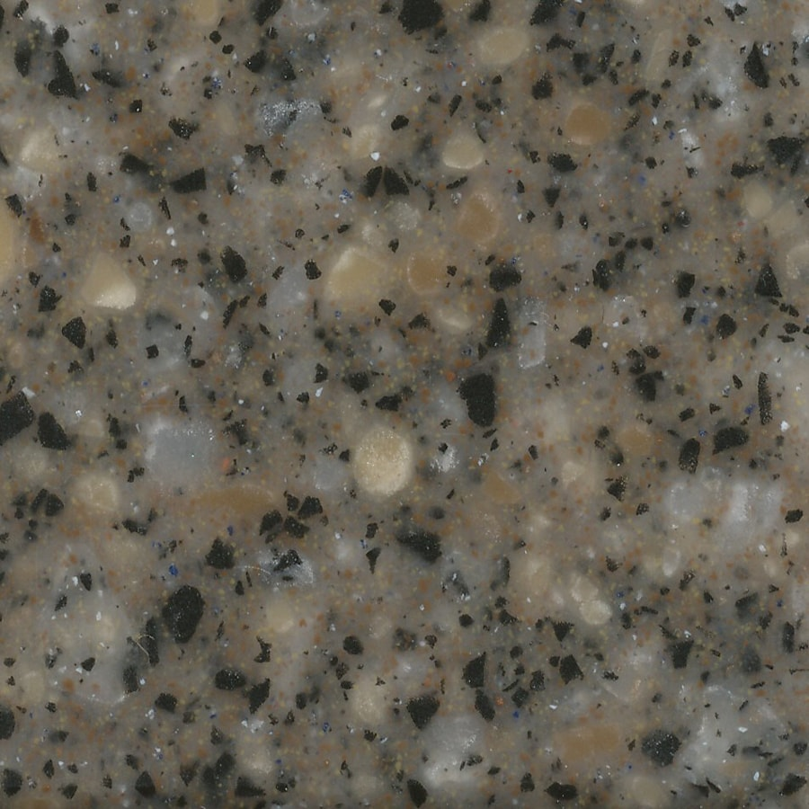 allen + roth River Rock Solid Surface Kitchen Countertop Sample