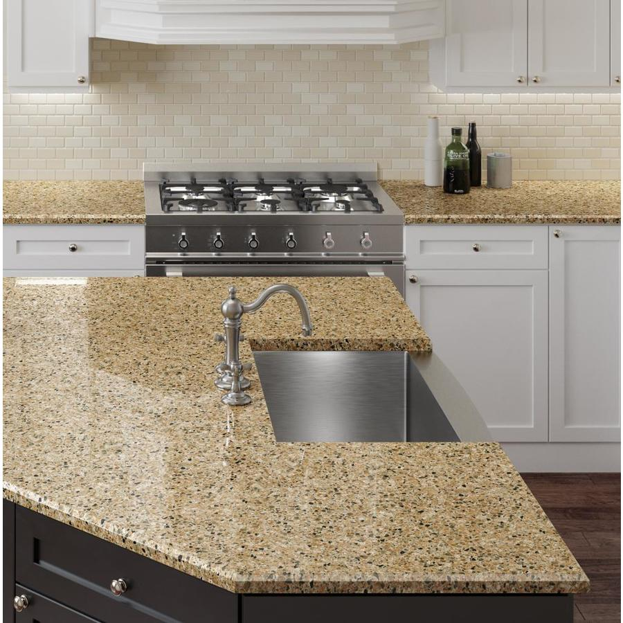 allen + roth Fairway Rock Quartz Kitchen Countertop Sample