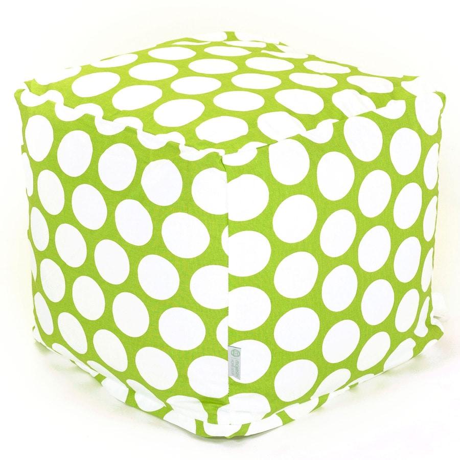 Majestic Home Goods Hot Green Large Polka Dot Bean Bag Chair