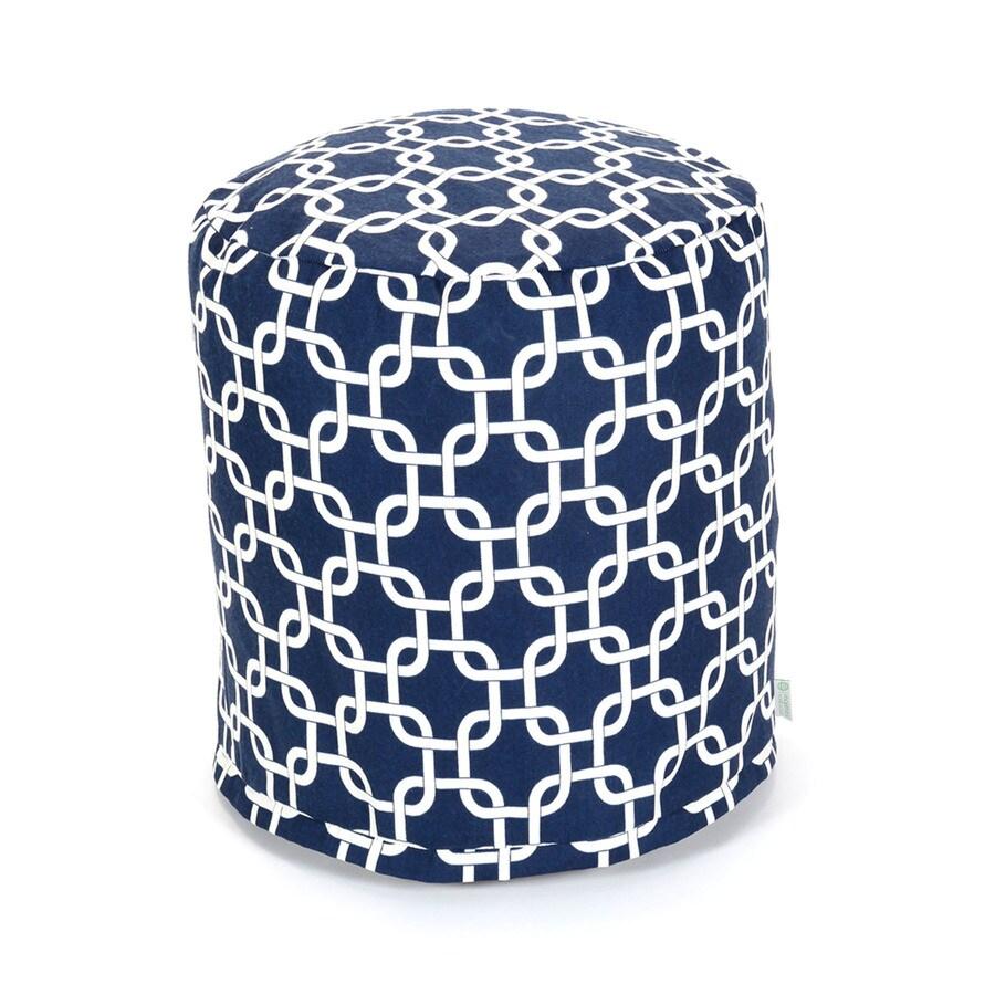 Majestic Home Goods Navy Blue Bean Bag Chair
