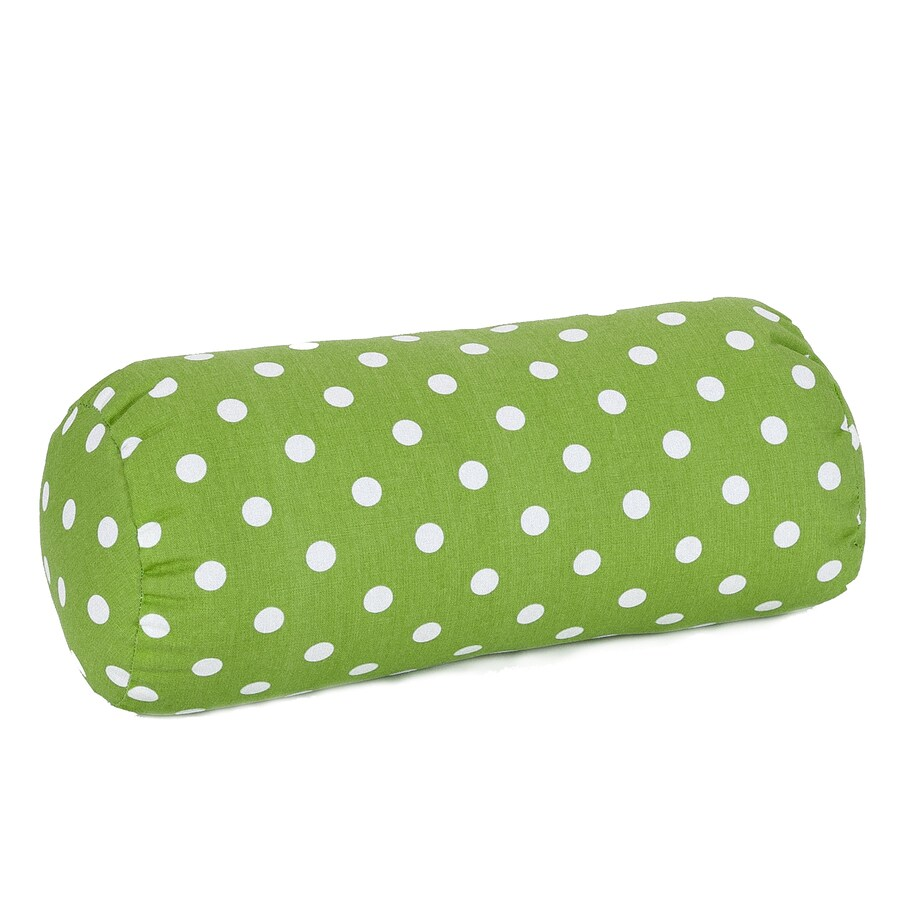 Majestic Home Goods 8-in W x 18.5-in L Lime Oblong Indoor Decorative Complete Pillow