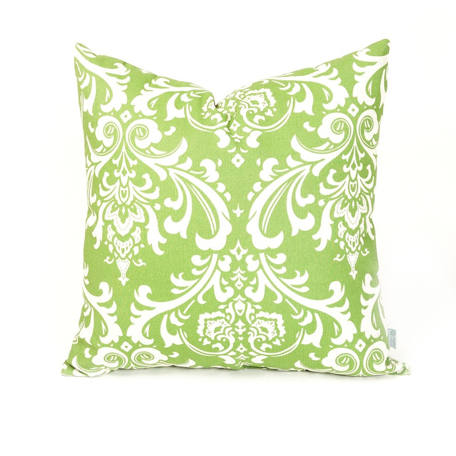 Shop Majestic Home Goods Sage French Quarter UV-Protected Outdoor Decorative Pillow at Lowes.com