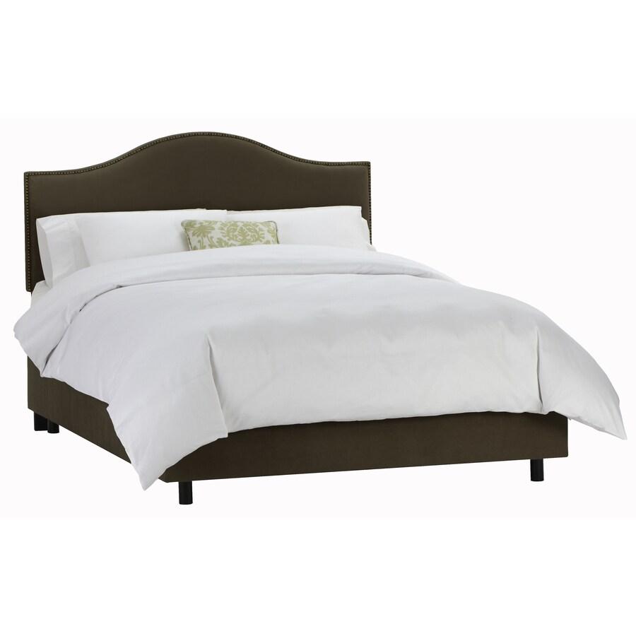 Skyline Furniture Armitage Chocolate Full Upholstered Bed