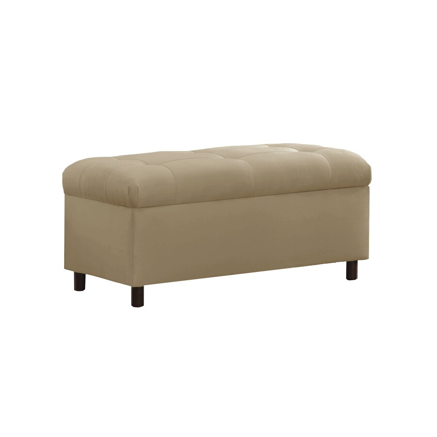 Shop Skyline Furniture Sheridan Oatmeal Indoor Accent Bench At