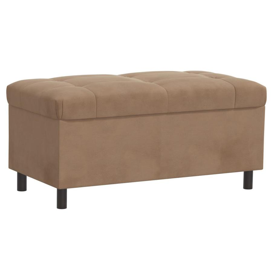 Skyline Furniture Sheridan Saddle Indoor Accent Bench with Storage