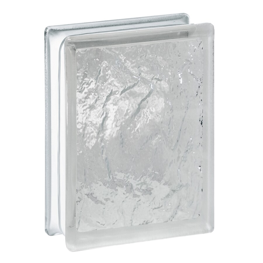 Shop redi2set 10 pack glass block common 8 in h x 6 in w for Glass block windows prices