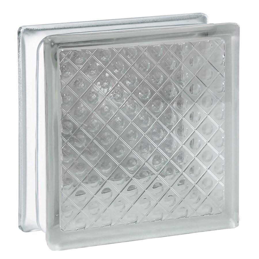 REDI2SET 10-Pack Glass Block (Common: 8-in H x 8-in W x 3-in D; Actual: 7.75-in H x 7.75-in W x 3.12-in D)