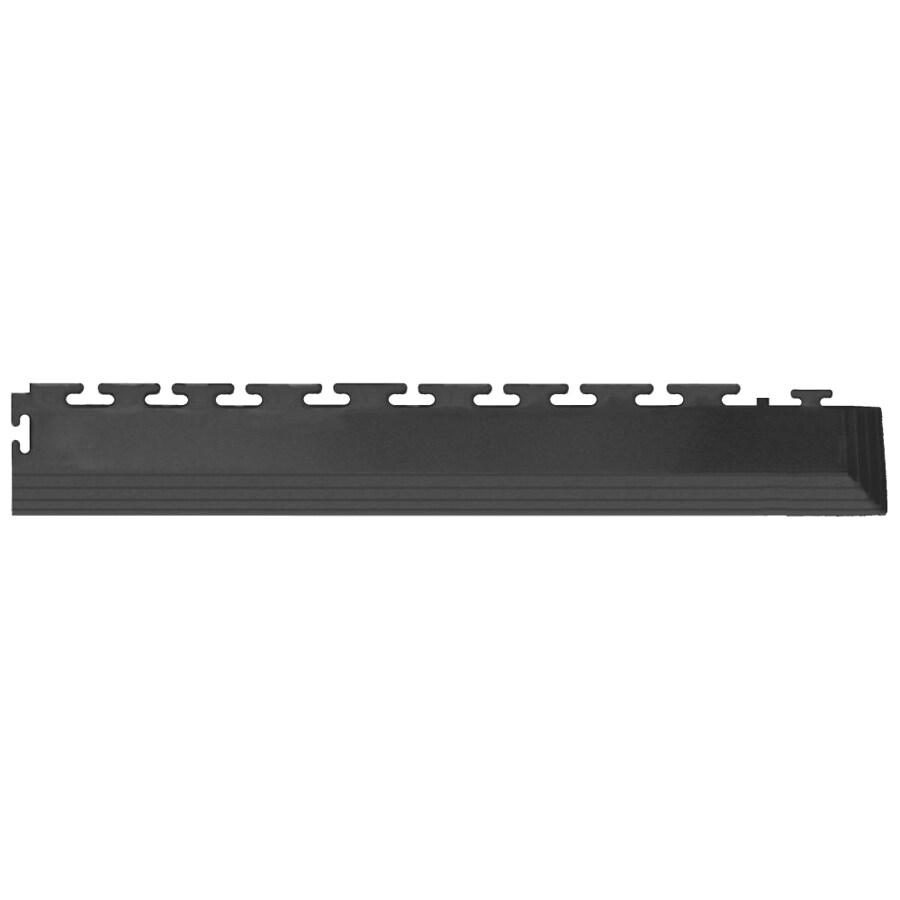 Blue Hawk 4-Pack 2.5-in x 23-in Dark Gray Loose Lay PVC Plastic Tile