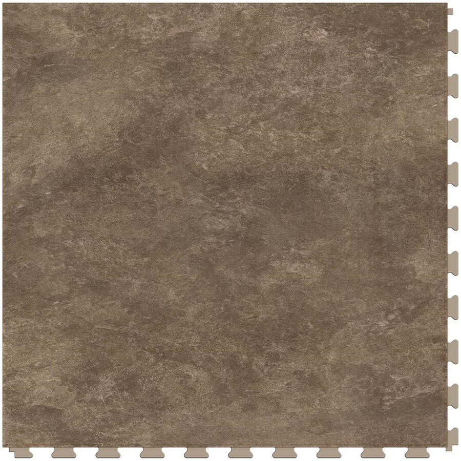 Perfection Floor Tile Natural 20-in x 20-in Sandstone Floating Stone Luxury Commercial Vinyl Tile