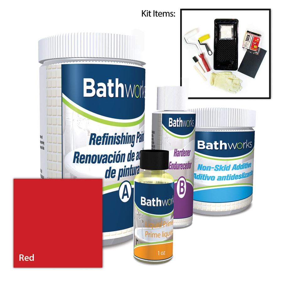 BathWorks DIY Bathtub Refinishing Kit How to Refinish A - induced.info